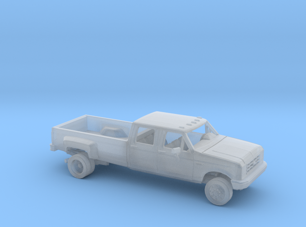 1/87 1987-91 Ford F-Series Crew Cab Dually Kit in Smooth Fine Detail Plastic