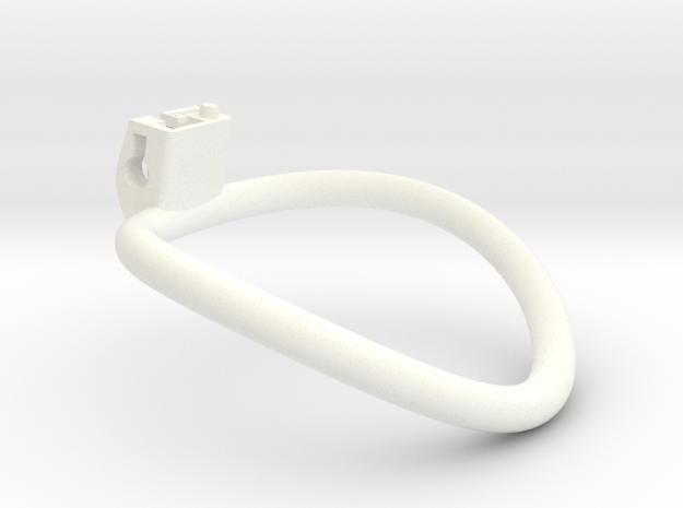 The Cherry Keeper Circular Ring - 70mm in White Processed Versatile Plastic