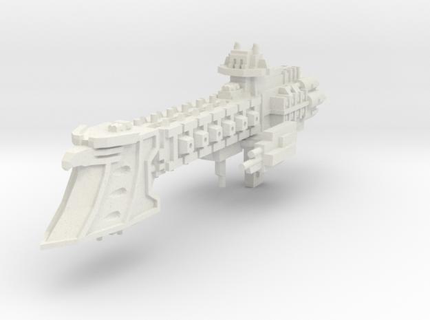 Crucero Ligero clase Intrepido v2  in White Natural Versatile Plastic