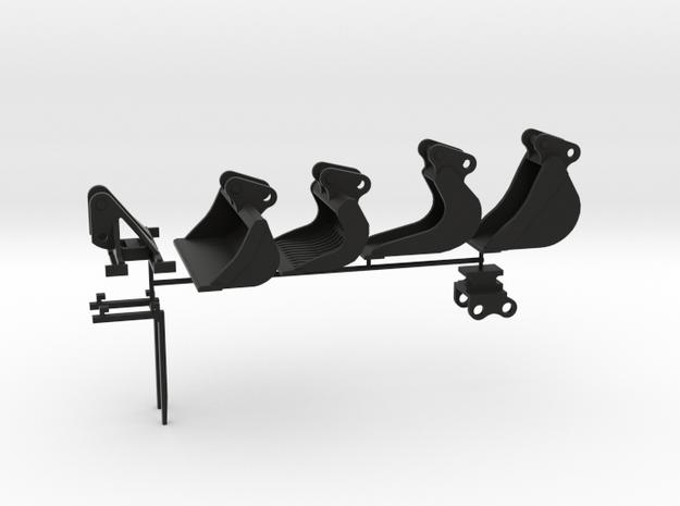 8 tonner hulpstukken inclusief snelwissel voor sik in Black Natural Versatile Plastic