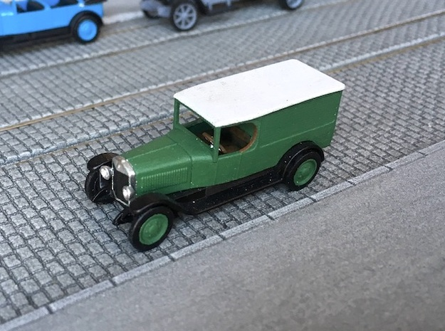 1:87 Unic L2 van 1922 in Smooth Fine Detail Plastic