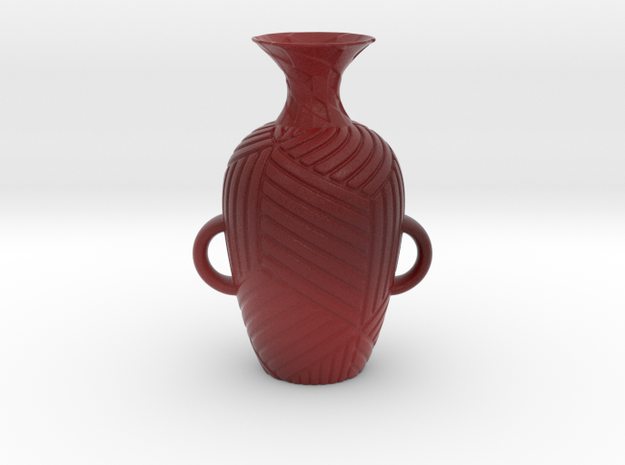 Vase 182Inc in Matte Full Color Sandstone