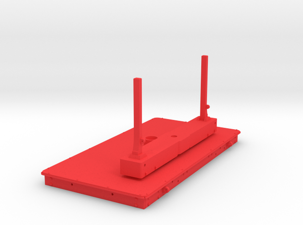 FRB08 Festiniog Railway Iron Bolster (SM32) in Red Processed Versatile Plastic