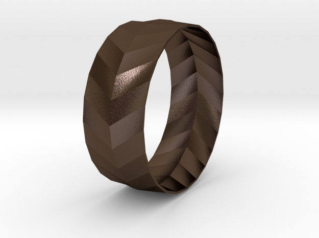 'ARROW' Bracelet  in Polished Bronze Steel
