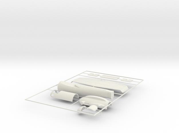 "1/32 Heinkel Projekt P.1077 ""Julia"" in White Natural Versatile Plastic: 1:32"