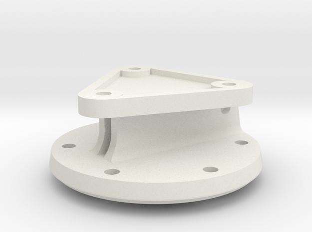08.02.01.02 Ring in White Natural Versatile Plastic