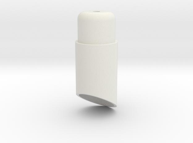 08.02.05.05 Lamp Body in White Natural Versatile Plastic