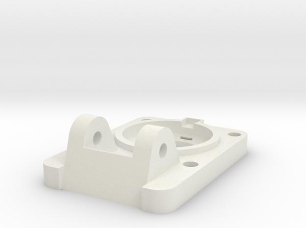 08.04.35.02.03 Base Plate (1) (1) in White Natural Versatile Plastic