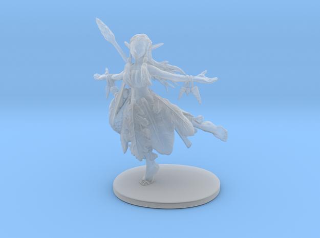 Hippy Elf Sorcerer in Smooth Fine Detail Plastic