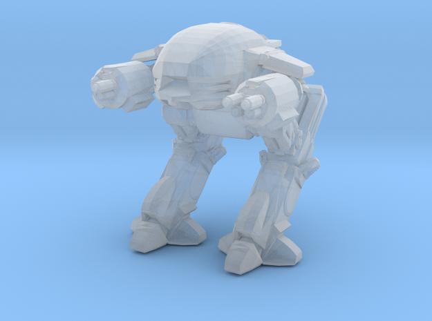 ed209 Robocop 1/60 miniature for scifi boardgames  in Smooth Fine Detail Plastic