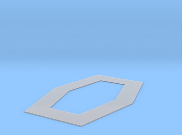 Specimen Tank Base - Platform in Smooth Fine Detail Plastic