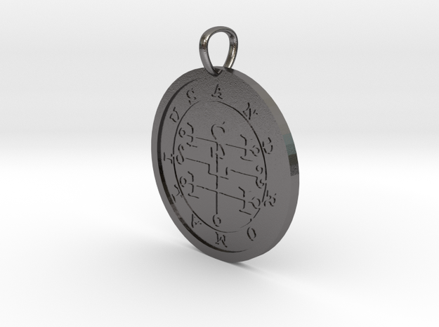 Andromalius Medallion in Polished Nickel Steel