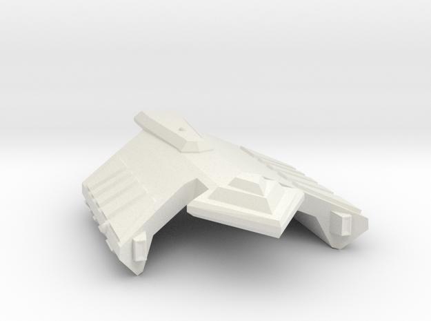 3125 Scale Ymatrian Dagger Frigate (FF) MGL in White Natural Versatile Plastic