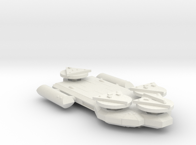 3125 Scale Worb Dreadnought (DN) MGL in White Natural Versatile Plastic