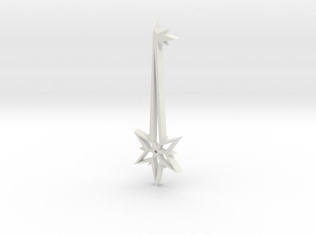 Key to Magic in White Natural Versatile Plastic