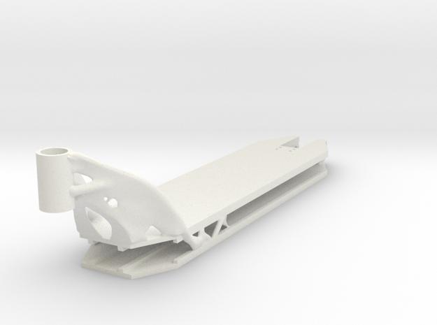 Deck 2 in White Natural Versatile Plastic