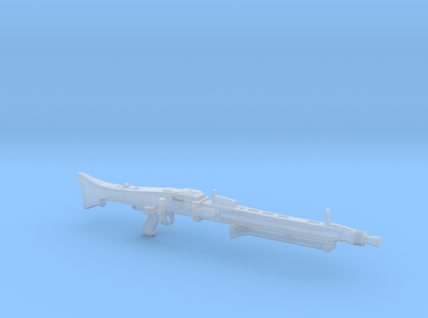 MG42 bipod folded 1/18 in Smooth Fine Detail Plastic: 1:18