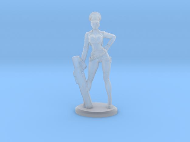 Bombshellshock Mini in Smooth Fine Detail Plastic: Small