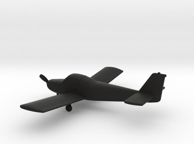 Fuji FA-200 Aero Subaru in Black Natural Versatile Plastic: 1:100