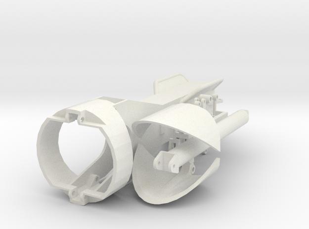 Hammer grab 2000mm in White Natural Versatile Plastic