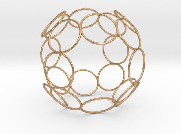 Alpha 10D Evo Cube in Natural Bronze