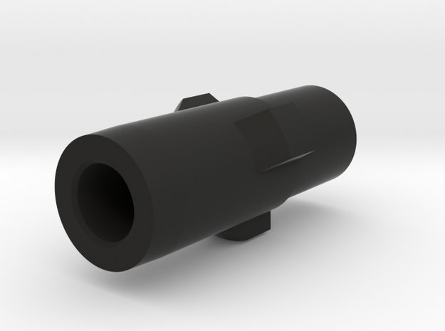 MP5 airsoft 3-Lug Adapter in Black Natural Versatile Plastic
