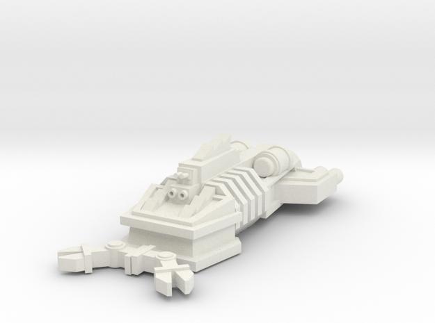 ! - Ram Ship - Concept B  in White Natural Versatile Plastic