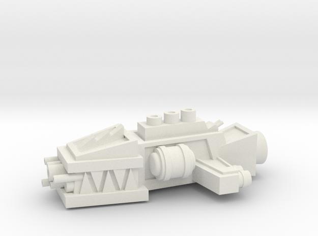 ! - Escort - Concept H  in White Natural Versatile Plastic