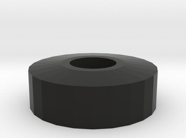 HATSWITCH_NUT_WASHER in Black Natural Versatile Plastic