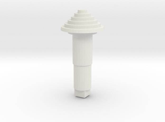 STEM_4WAY_COOLIE_1_MINI in White Natural Versatile Plastic