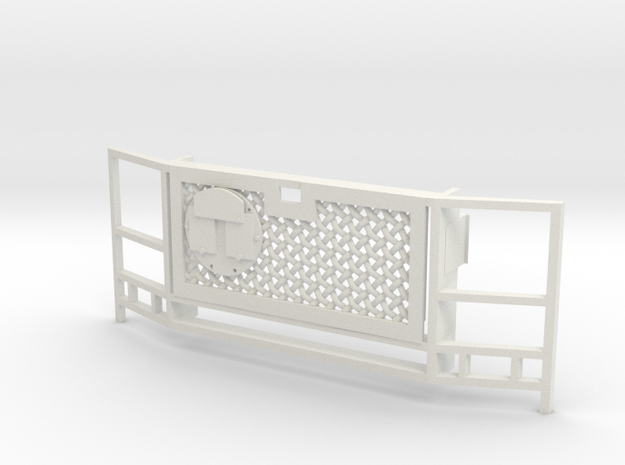 WPL Truck Front Grille A in White Natural Versatile Plastic