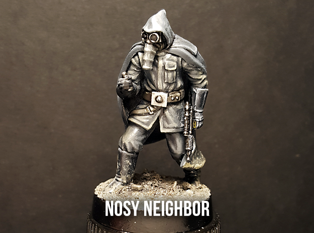 Nosy Neighbor in Smoothest Fine Detail Plastic