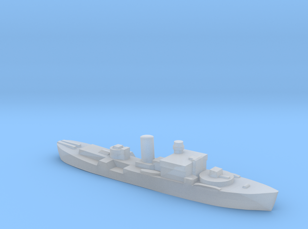 HMS Begonia corvette 1:3000 WW2 in Smoothest Fine Detail Plastic
