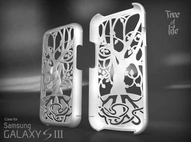 """Samsung - Galaxy S3 """"Tree of life"""" Cover Case"""