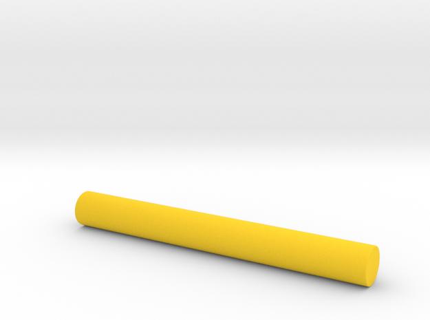 Laserbeam 95mm in Yellow Processed Versatile Plastic