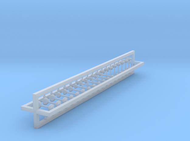 Pilze 72er Set - 1:100 in Smooth Fine Detail Plastic