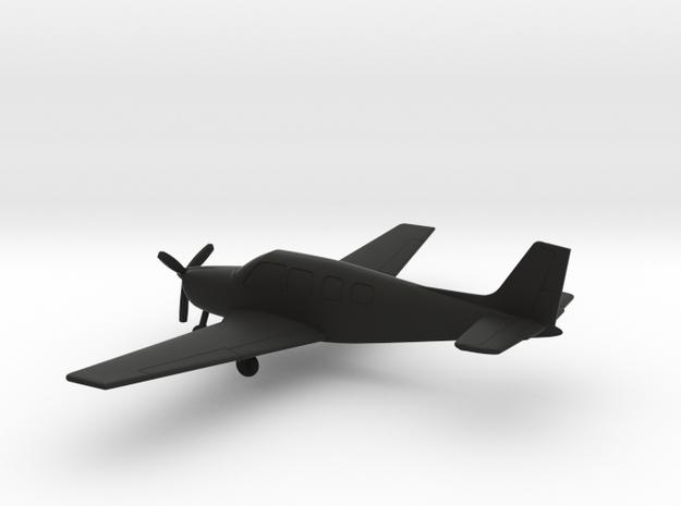 Beechcraft B36TC Bonanza in Black Natural Versatile Plastic: 1:100
