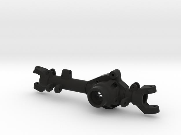 TMX Delta 44 Front Axle-Right Side in Black Natural Versatile Plastic