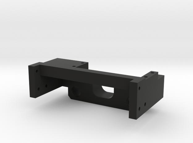 Delta Blazer Front Servo Bumper Mount in Black Natural Versatile Plastic
