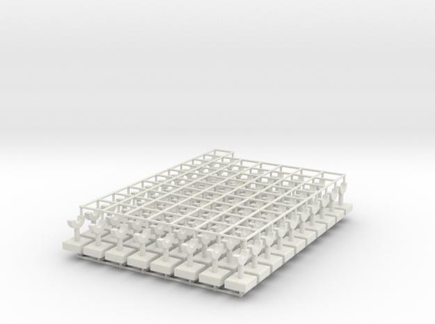Pillar Package v1 in White Natural Versatile Plastic