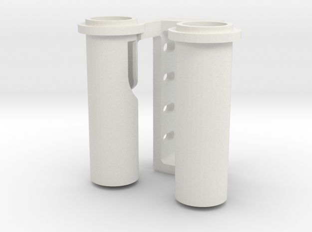 Towing Pin Pipe AHT/TUG in White Natural Versatile Plastic