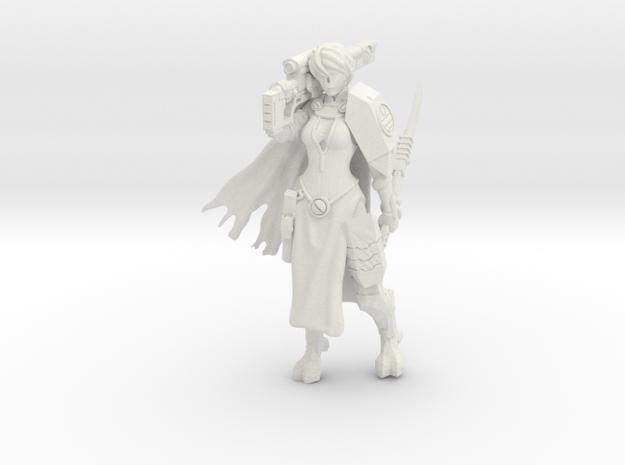 Greater Good Veteran Knight in White Natural Versatile Plastic
