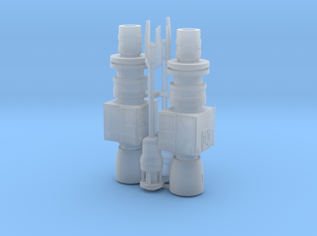 1:72 Rebel Antenna 2pk in Smooth Fine Detail Plastic