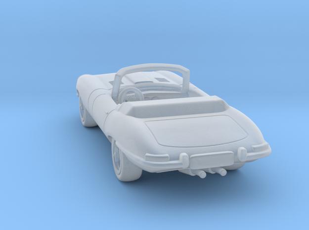 Jaguar Type E  1:120 TT in Smooth Fine Detail Plastic