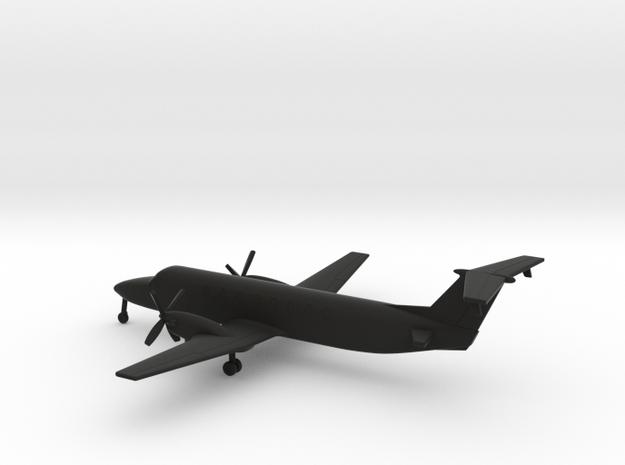 Beechcraft 1900C in Black Natural Versatile Plastic: 1:200