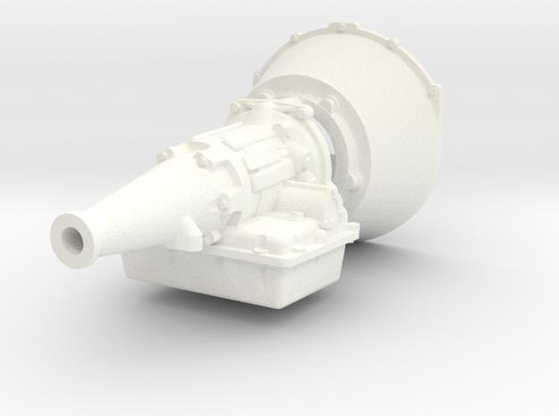 Powerglide 1/12 hemi in White Processed Versatile Plastic