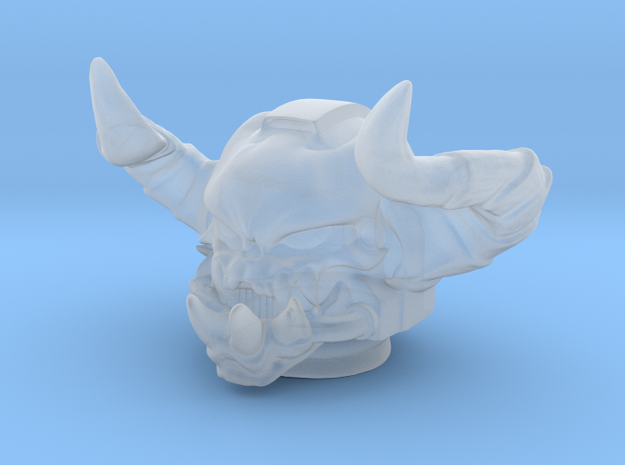 Marine demonskull helmet in Smooth Fine Detail Plastic
