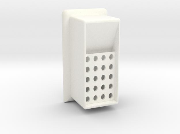Carbon floater for EM grids in White Processed Versatile Plastic