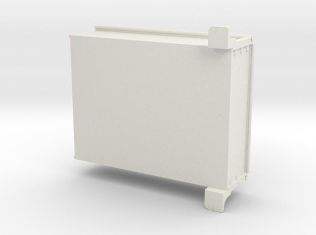 Stepside Bed for RC4WD K5 Blazer Body in White Natural Versatile Plastic