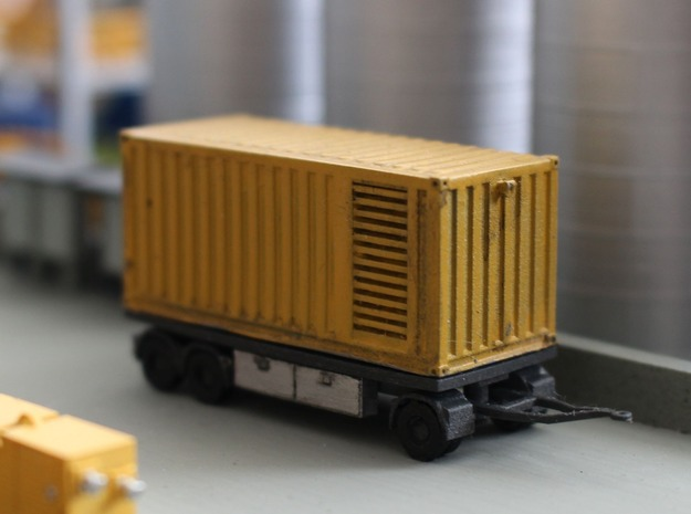 N 20ft Container Trailer 2